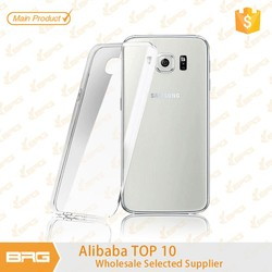 For S6 TPU Case, New Arrival Transparent Soft TPU Case Cover for S6