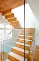 beech prefinished wood stair tread covers