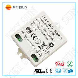 SAA CE approved constant current 3w no dimmable led driver for indoor lamps