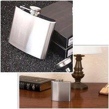 5oz 6oz 7oz 8oz Portable Pocket Hip Flask Screw Cap Stainless Steel Drink Liquor Whisky Alcohol Bottle