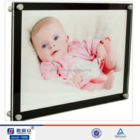 Acrylic wall mount picture frames/acrylic printing machine picture frames bulk