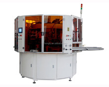 HKS2M Automatic 2 color UV ink screen printing machinery for glass containers