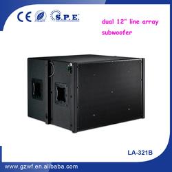 SPE Audio 1000W Pro 12 inch Dual Subwoofers LA-312B