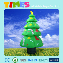 2015 Cheap outdoor inflatabel christmas tree for sale