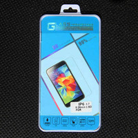 2.5D 0.26mm tempered glass screen protector for iphone 6/6s with retail package