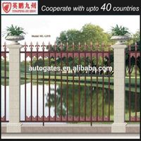 durable industrial safety fence, anti climb fence, Residential Wide Aluminum Fence