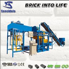 Hot Sale QT4-25 Automatic Interlocking Brick Paver Brick hollow block machine price in india