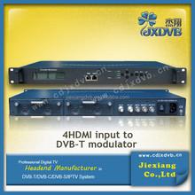 MPEG4/AVC H.264 encoding DVB-T modulator
