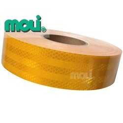 yellow color Conspicuity Markings diamond- Grade, Reflective Tape for School Bus, Automobiles