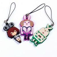 cute silicone id card lanyard neck strap