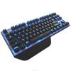 SADES professional gaming keyboard metallic overall design led gaming keyboard