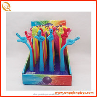 New design funny student bendable pen with great price SS98619E-SA1-12