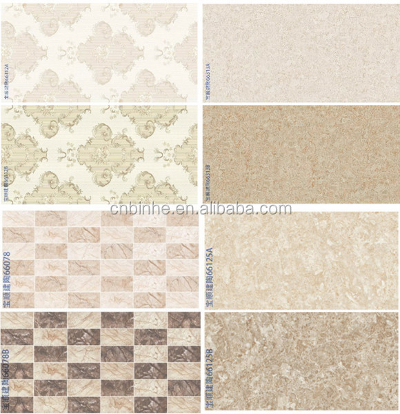 Latest design 30x45 bathroom ceramic wall tiles mainly for for Bathroom tile designs in india