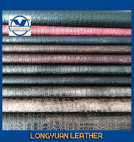2015 hot selling lizard skin retro synthetic leather
