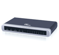 Grandstream 8 FXS Ports Analog Telephone Adapter for GSM Network ,GSM Modem Network Adapter,Voip GSM Gateway GXW4008