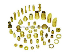 CNC brass lathe parts for car body