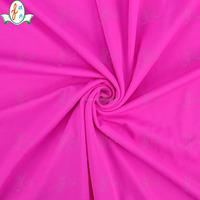 dyed pink Lycra Nylon Spandex gymnastics leotard sportswear fabric