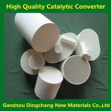 Honeycomb exhaust ceramic metalic catalytic converter for sale