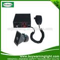 de alta potencia de emergencia sirena electrónica de vehículos