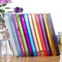 Soft Material Wholesale High quaility TPU Case For Iphone 5 Colorful Back Cover Fresh Style 15 Colors