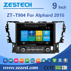 New design used cars for toyota alphard with gps/usb/sd/dvd/radio/3g/bluetooth/phonebook