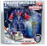 Action Figures Dark of the Moon Series Voyage Optimus Prime KO version Transformable Robot