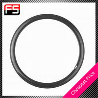 clincher top quality 2015 clear finish full carbon 700c road bike rim 50mm