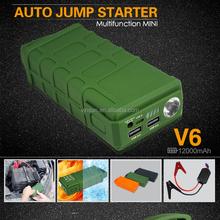 Army Boots Green Vinsun V6 Jump Starter, 200 AMP Battery Charger