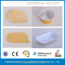 Sealable and Retortable Aluminium Foil Container with Lid