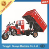 Hydraulic dumper 300CC three wheel cargo motorcycle