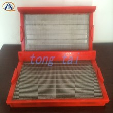 High quality stainless steel slit sieve plate pu frame