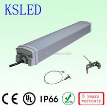2015 new products tri-proof IP66 led tube light ip65 ip66 waterproof fluorescent lighting fixture 20W 30W 40W 50W 60W CE