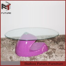 acrylic console table for cafe home