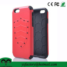 New Products U sheild red tpu pc 2 in 1 cell phone cases for cases iphone 6 2015