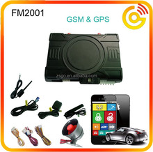 cell phone control GSM car alarm workable with original transmitter---FM2001