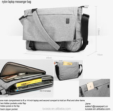 "hot selling waxed cotton canvas oxford nylon 11"" 13"" 15.6"" backpack shoulder laptop messenger bag for Macbook air/pro laptops"