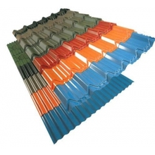 low cost corrugated coated steel sheet