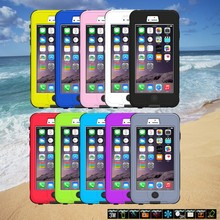 New For iPhone 6 Waterproof Case 4.7 inch Durable Dirt Shockproof Diving Underwater Protective Phone Cover Case for iPhone6
