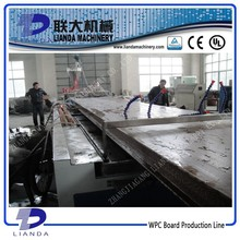 High Performance WPC Plastic Compound Machinery