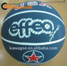 Inflatable rubber basketball manufacturer