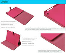 2013 new arrival Leather Case Cover for Apple iPad Mini case