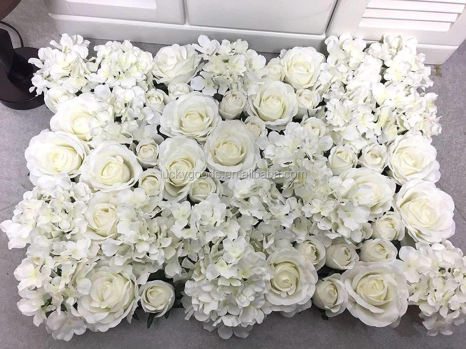 Wholesale Stage Or Background White Flower Wedding Decoration Buy
