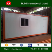 Beautiful ready made steel frame container house
