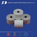En blanco caja registradora rollo de papel térmico