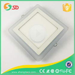 Looking for agents in Indian mordern designed new arrival round double color synchronized led panel light four color available
