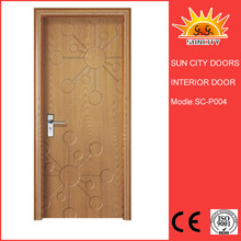 Hot sale factory interior pvc steel door window insert SC-P004