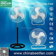 stainless steel fan/18 inch 3 in 1 industrial fan made in china