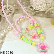 Children necklace wholesale pearl necklace bracelet ring