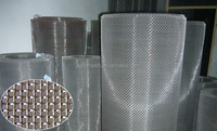 crimped wire cloth/low carbon square hole /plain weaving