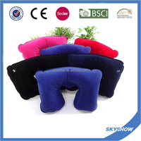 Hot Sell Custom Soft Inflatable Travel Pillow Air Pillow
